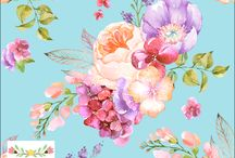 Stunning digital print fabrics available at Fabric Trove