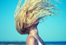 Beach hair looks - Χτενίσματα για παραλία
