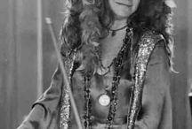 Janis Joplin and her Boas
