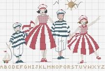 Cross stitch - stripes