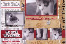 cat scrapbooking