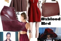 Fall Trends 2012: Oxblood / #SQ1PinATrend