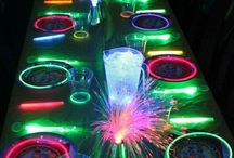 GLOW IN THE DARK / Amazing ideas for a glow party