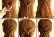 Women Hairstyles / variation of girl's hairstyles