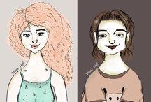 Vitória Hoff - Ilustrações