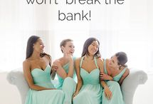 Bridesmaids Dresses / dress ideas for Gionna's wedding / by She is Fierce | Blogger