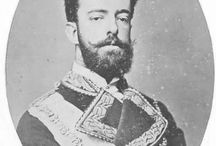 King Amadeo I of Spain / Amadeo I (30 May 1845 - 18 January 1890) was the only King of Spain from the House of Savoy. He was the son of Victor Emmanuel II of Italy and Adelaide of Austria. Amadeo has been married of his two wives. Maria Vittoria dal Pozzo and Maria Letizia Bonaparte.