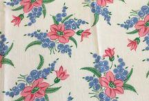 Vintage Feedsacks Fabric