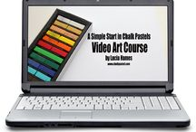 Video Art Courses / Let a Master Artist teach all ages at one time - at your convenience!