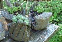 puutarhaideoita