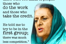 Indira Gandhi / Indira Gandhi was India's third prime minister, serving from 1966 until 1984, when her life ended in assassination. She was the daughter of Jawaharlal Nehru, India's first prime minister.