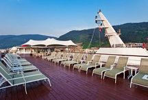 Yangtze Gold Cruises / Yangtze Gold Cruises, including seven 5-star all-new cruise ships, is the newest fleet sailing along Yangtze River since 2011, setting up the new standard of the luxury inland river cruises.