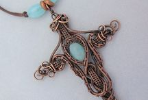 Metal Stamping and Wire Jewelry