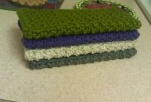 Crochet: dishcloths, washcloths, scrubbies, etc. / by Colleen Scott