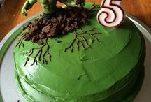 Birthday cake - Hulk