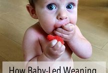 Baby Led Weaning / Baby led weaning tips, tricks, and solids to introduce to baby