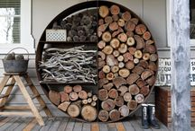 drewutnia wiata stojak na drewno