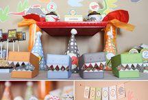 Dinosaur party ideas / by Kit Taylor