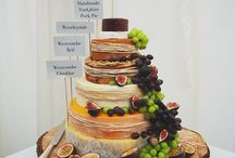 Wedding stacked cheese cake / Koeke
