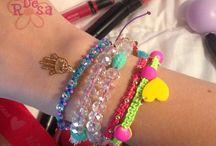 accesorios palo de rosa / accesorios para dama y caballero