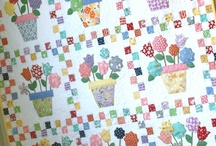 Quilt ~ Flowers & Baskets
