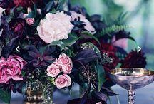 kāzu dekori, krāsas