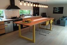 Kitchen Island Bench Lighting / Idea's for lighting your bench top