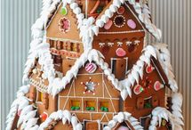 Gingerbread houses / by Glenda Gibbs