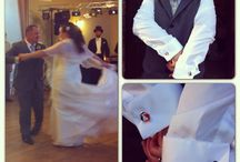 Weddings / Groom custom cufflinks!