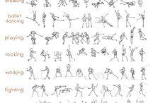 Dibujos de poses