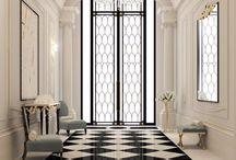 Stylish entryway