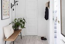Entryway   scandi style   cozy minimalist