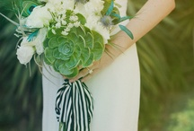 Floral wedding style