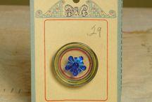 Boutons / Une madeleine... Petite je passais des heures avec les boîtes à boutons de mes grands mères... Des merveilles!!!  / by Annick Thévenot