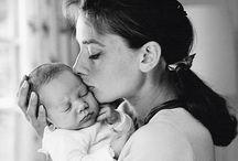 b&w | motherhood