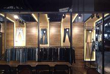 Denim Firm Stand Design by B+P / Denim Clothing Stand Design for BAYKANLAR, Denim Premiere Vision