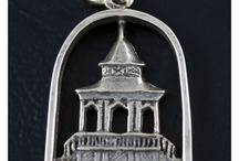 Dubuque Iowa Charms / Custom charms of Dubuque landmarks, exclusively at McCoy Jewelers. Made in store, each hand done.