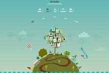 Web design / Some extract of websites I've worked on. Wybór stron internetowych, nad którymi pracowałem.