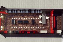 bee goddess akmerkez /  #render #interior design #interior #parametric #design #cage #architectural  #jewelry #jewelry store