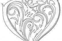 Rock art patterns
