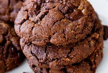 Flour less chocolate cookies / Biscuits