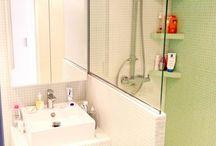 Disposition de salle de bains