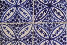 Moroccan Hand Painted Tiles