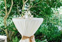 Tammy's wedding / Sand table