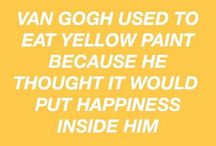 Yellow aesthetic