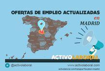 Ofertas de empleo por provincias y ciudades de España