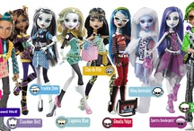 Monster High Dolls NEW Collection