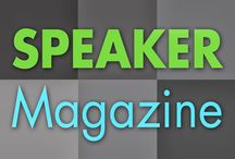 Speaker Magazine / Speaker Magazine is the award-winning magazine of the National Speakers Association (NSA), the leading source for community, education and entrepreneurial business knowledge in the speaking profession.