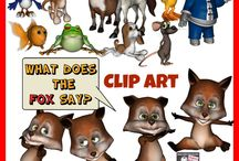 Clip art / by Mrs. P's Specialties- Educational Resources