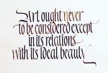 parallel pen calligraphy